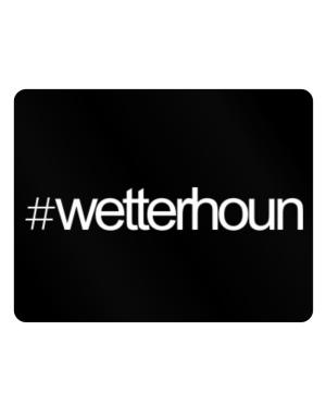 Hashtag Wetterhoun Parking Sign - Horizontal