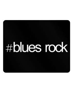 Hashtag Blues Rock Parking Sign - Horizontal