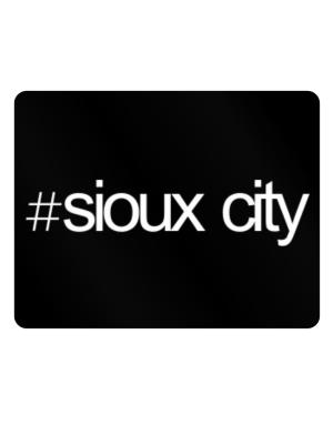 Hashtag Sioux City Parking Sign - Horizontal