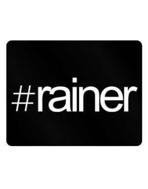 Hashtag Rainer Parking Sign - Horizontal