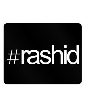 Hashtag Rashid Parking Sign - Horizontal