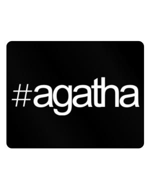 Hashtag Agatha Parking Sign - Horizontal