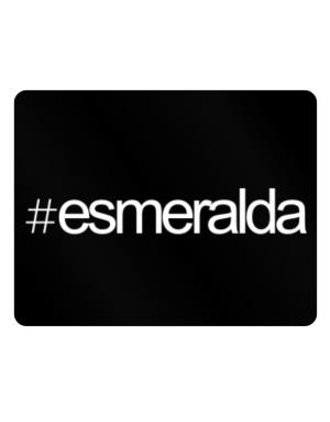 Hashtag Esmeralda Parking Sign - Horizontal