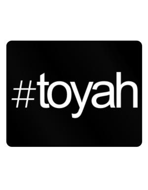 Hashtag Toyah Parking Sign - Horizontal