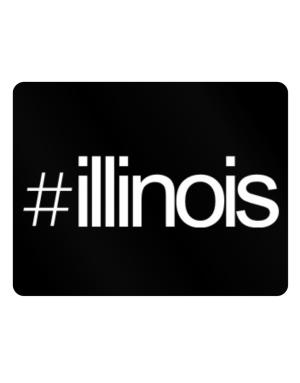 Hashtag Illinois Parking Sign - Horizontal
