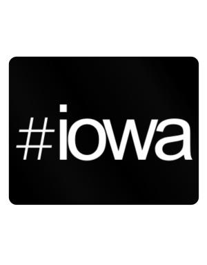 Hashtag Iowa Parking Sign - Horizontal