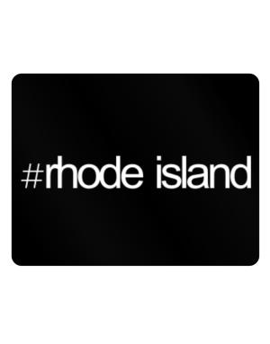 Hashtag Rhode Island Parking Sign - Horizontal