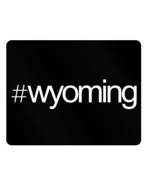 Hashtag Wyoming Parking Sign - Horizontal