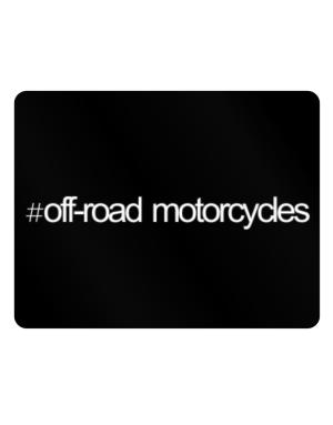 Hashtag Off-Road Motorcycles Parking Sign - Horizontal