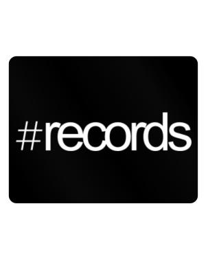 Hashtag Records Parking Sign - Horizontal
