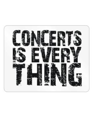 Concerts Is Everything Parking Sign - Horizontal