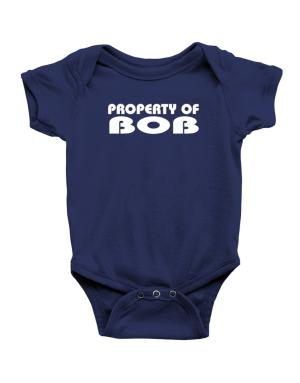 "Enterizo de Bebé de "" Property of Bob """