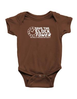 Save the clock tower Baby Bodysuit