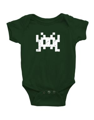Space invaders retro Baby Bodysuit