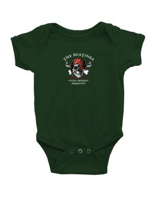 The beatings will continue until morale improves! Baby Bodysuit