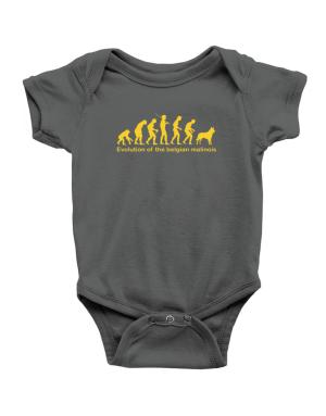 Evolution Of The Belgian Malinois Baby Bodysuit