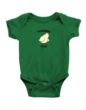 Pickleball Chick Baby Bodysuit