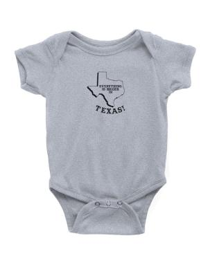 Everything is bigger in Texas Baby Bodysuit