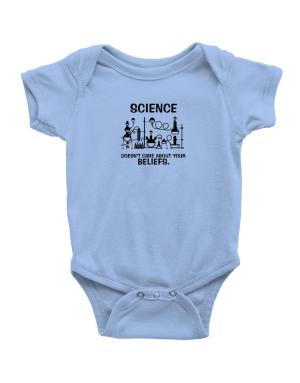 Science doesn't care about your beliefs Baby Bodysuit