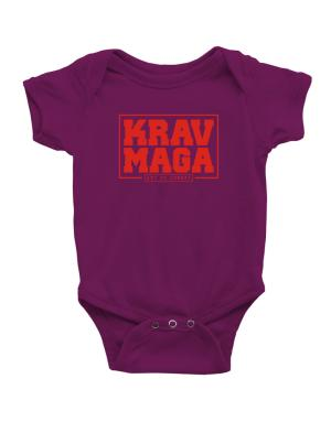 Krav maga art of combat Baby Bodysuit