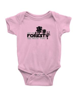 May the forest be with you Baby Bodysuit