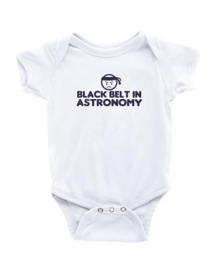 Black Belt In Astronomy Baby Bodysuit