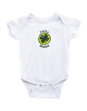 Lucky Stanford Baby Bodysuit