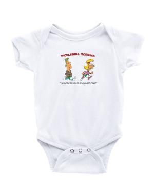 Pickleball Scoring Baby Bodysuit