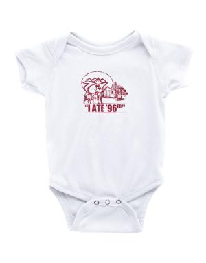 I ate 96er outdoors Baby Bodysuit