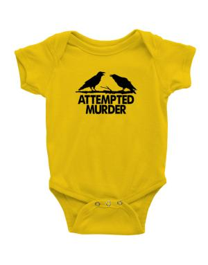 Crows Attempted Murder Baby Bodysuit