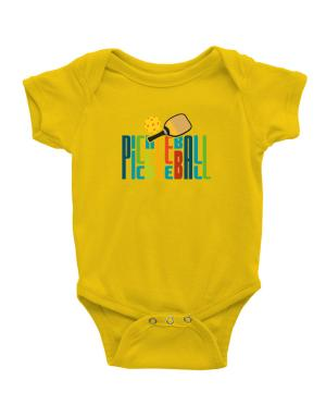 Pickleball fan Baby Bodysuit