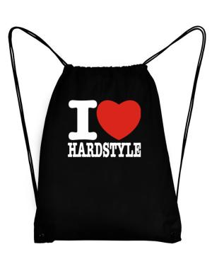 I Love Hardstyle Sport Bag