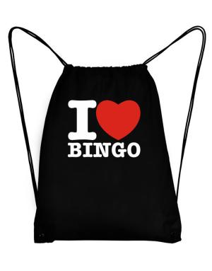I Love Bingo Sport Bag