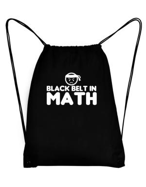 Black Belt In Math Sport Bag