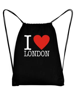 I Love London Classic Sport Bag
