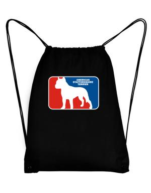 American Staffordshire Terrier Sports Logo Sport Bag