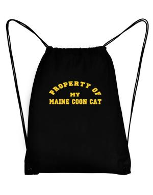 Property Of My Maine Coon Sport Bag