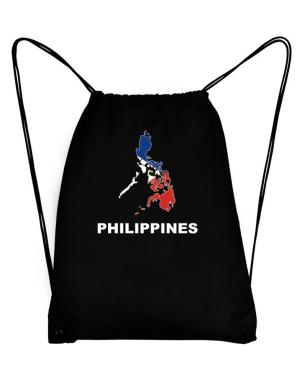 Philippines - Country Map Color Sport Bag
