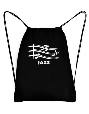 Jazz - Musical Notes Sport Bag