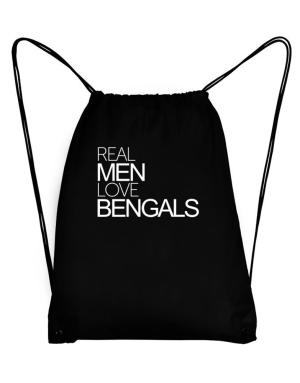 Real men love Bengals Sport Bag
