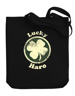 Lucky Haro Canvas Tote Bag