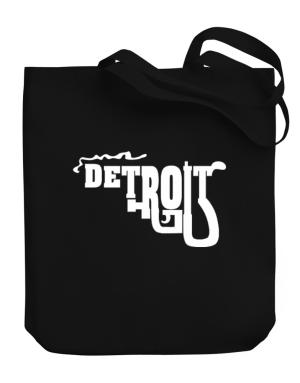 Detroit gun style Canvas Tote Bag