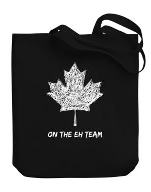 Canada on The Eh Team Canvas Tote Bag
