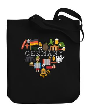 I love Germany Canvas Tote Bag