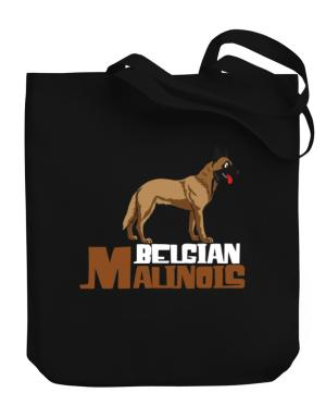 Belgian malinois cute dog Canvas Tote Bag