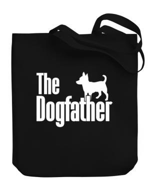 The dogfather Chihuahua Canvas Tote Bag