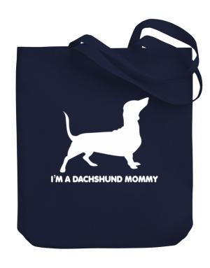 Dachshund mommy Canvas Tote Bag