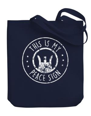 Bolsos de This is My Peace Sign