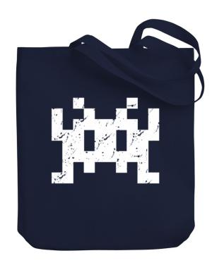 Space invaders retro Canvas Tote Bag
