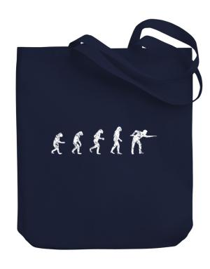 Evolution of a pool player Canvas Tote Bag